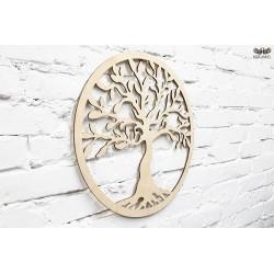 Drzewko szczęścia - Sklejka brzozowa