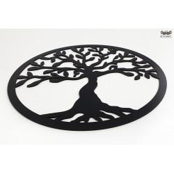 Czarne Drzewko szczęścia - HDF lakierowany