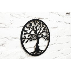 Lucky tree. Black HDF lacquered