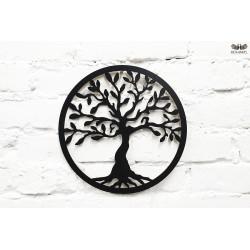 Drzewko szczęścia z czarnego HDF