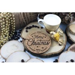 Christmas mug coasters.