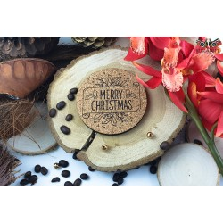Cup coasters for the holidays