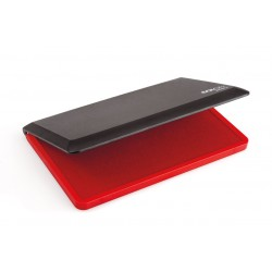 Ink pad for hand stamps - red