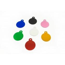 Addressee circle - Engraved pendant