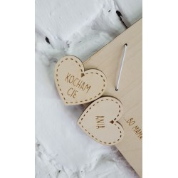Photo frame for mom - hearts
