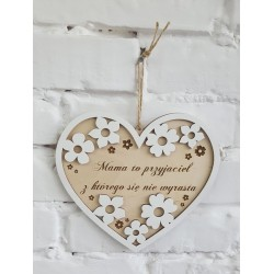 Decorative heart for mom