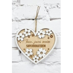 Wishes for Dad - Gift for Father's Day - Heart