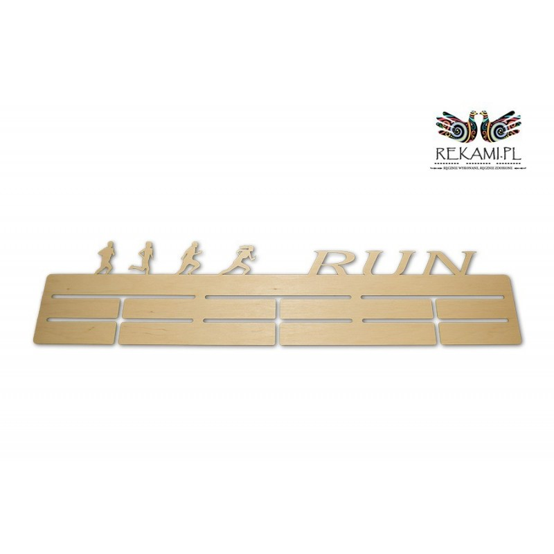 Medal hanger for runners