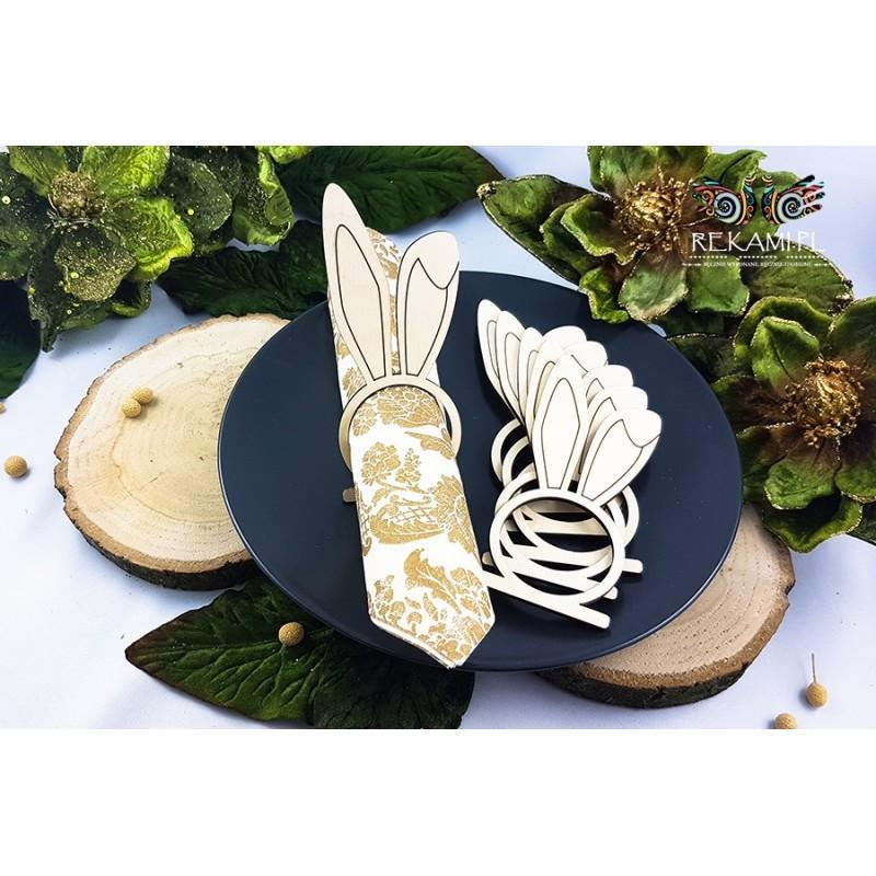 Napkin holder for Easter - Hare ears