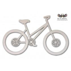 Rower na ścianę - ozdoba