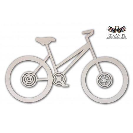 Rower wycinany laserowo - Ozdoba dla każdego rowerzysty