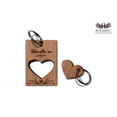 Brelok na Walentynki - Prezent dla ukochanej osoby