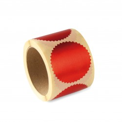 Naklejka do suchego stempla - Czerwona