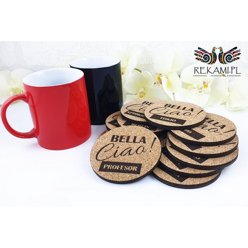 Mug pads - Bella Ciao