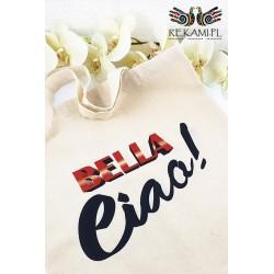 Siatka na zakupy z nadrukiem Bella Ciao