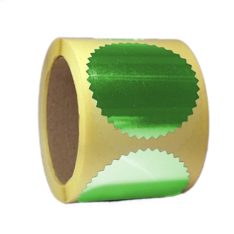 Naklejka do suchego stempla - Zielona