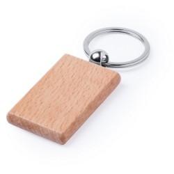 Drewniany brelok z grawerem