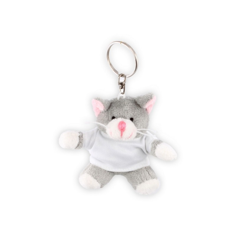 Plush kitty - keyring with marking