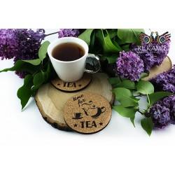 Podkładki do herbaty z korka - Imbryk