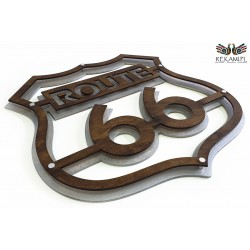Route 66 - Decoration for motorcycle enthusiasts