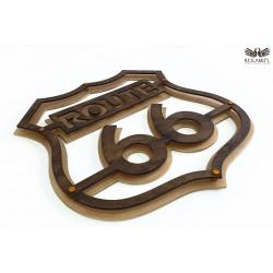 Szyld Route 66 - Dekoracja ścienna