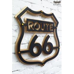 Szyld Route 66. Prezent dla motocyklistów.