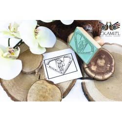 Wooden stamp - Sample