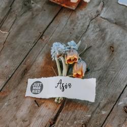 Little NIO - Pieczątka ślubna, Just Married