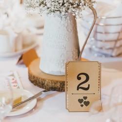 Wedding stamp. Little NIO - Hearts
