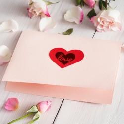 Pieczątka Little Nio - Serce Love - List