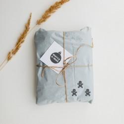 Ozdabianie prezentów pieczątką Little NIO Święta