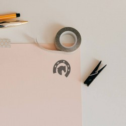 Horseshoe - Decorating envelopes - Little Nio Horses