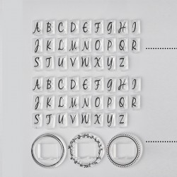 Dostępne litery alfabetu - Pieczątka Little NIO Inicjały