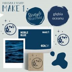 Poduszka tuszująca Make 1 - Kolor Noble Blue