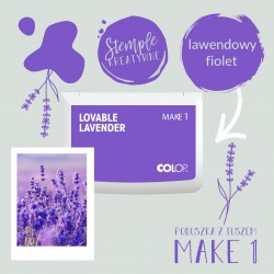 Ink Pad Make 1 - Color Lovable Lavender
