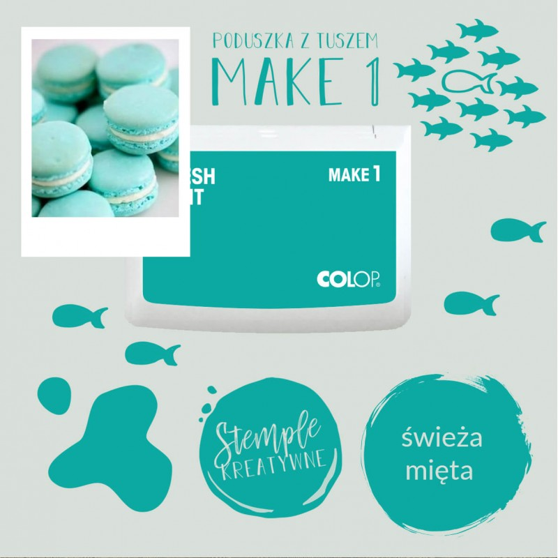 Ink Pad Make 1 - Color Fresh Mint