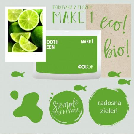 Poduszka tuszująca Make 1 - Kolor Smooth Green