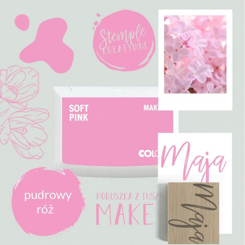 Poduszka tuszująca Make 1 - Kolor Soft Pink