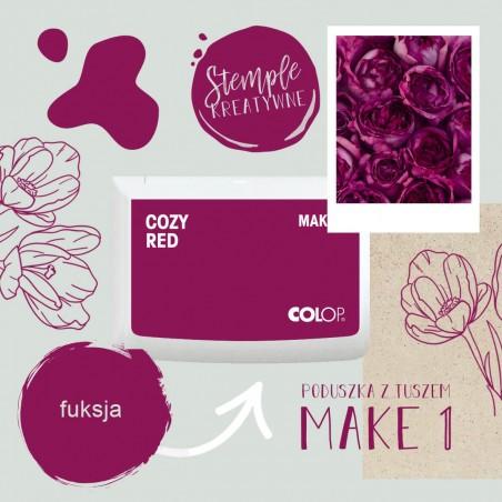 Poduszka tuszująca Make 1 - Kolor Cozy Red