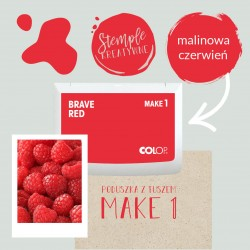 Ink Pad Make 1 - Color Brave Red