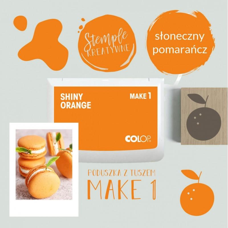 Poduszka tuszująca Make 1 - Kolor Shiny Orange