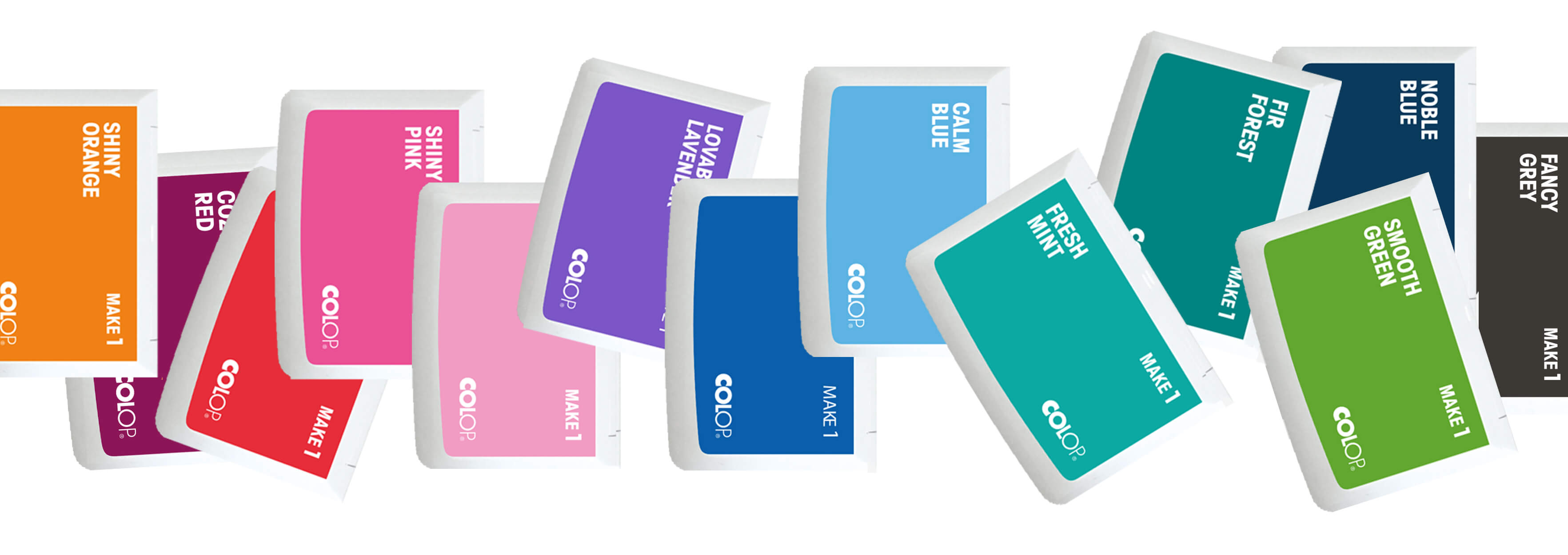 Ink Pads Make 1 - Available Colors