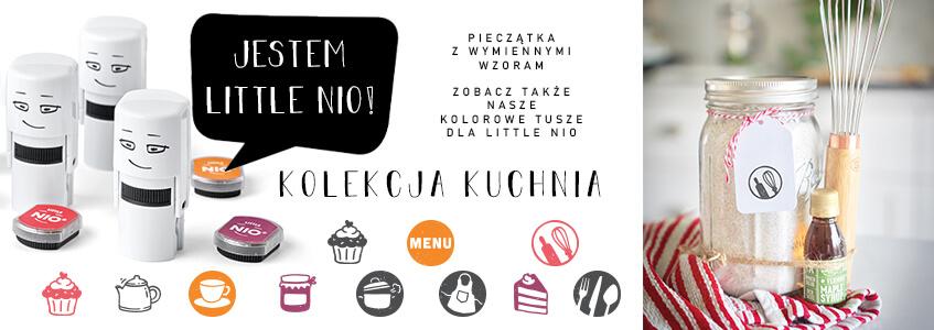 Kitchen set of NIO Stamps
