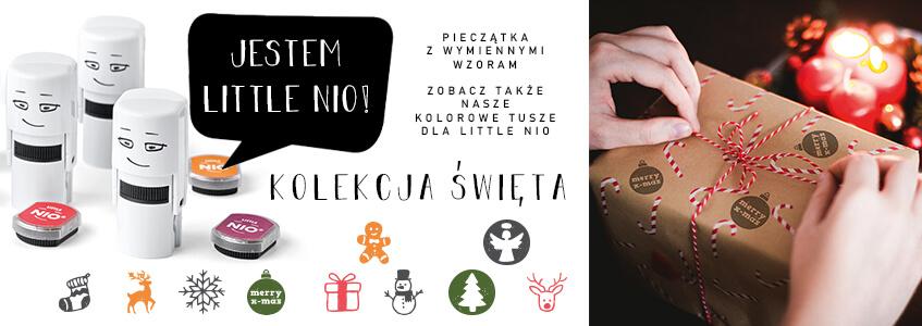 Little Nio Christmas stamp